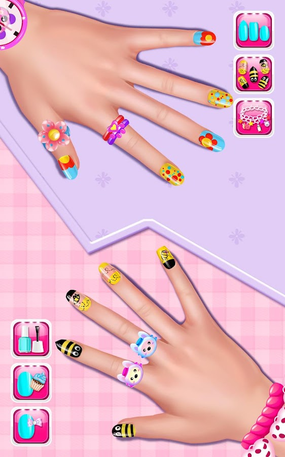 Nail salon girls nail design android apps on google play nail salon girls nail design screenshot prinsesfo Images