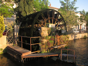 Photo: It was once a mill town, but today only a few weed-covered waterwheels remain.