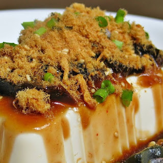 Cold Tofu with Century Egg