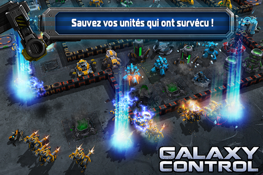 Galaxy Control: Stratégie 3D  captures d'écran 1