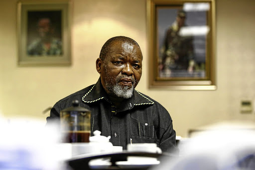 Gwede Mantashe. File photo.