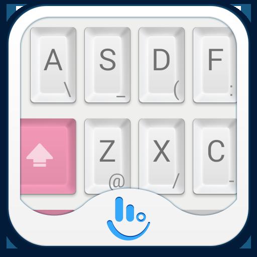 TouchPal Mechanical Pink Theme