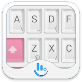 TouchPal Mechanical Pink Theme