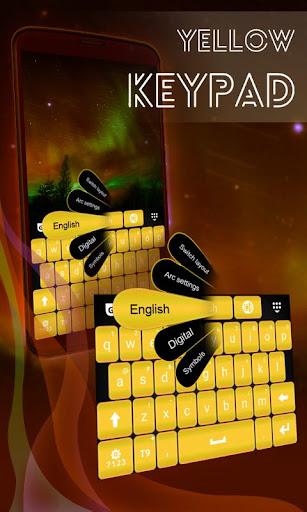 黄键盘的手机
