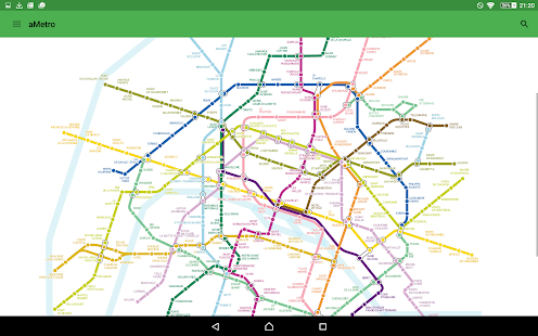 aMetro - World Subway Maps- screenshot thumbnail