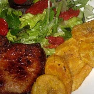 Pork Chops & Platanos
