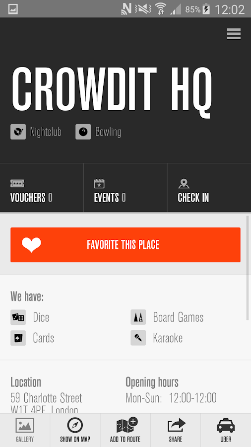 Crowdit- screenshot