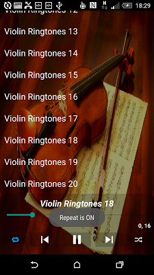 Violin Ringtones - screenshot