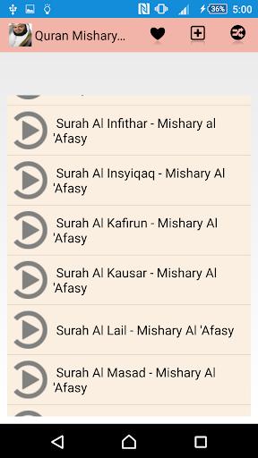 Quran Mishary Rashed Alafasy