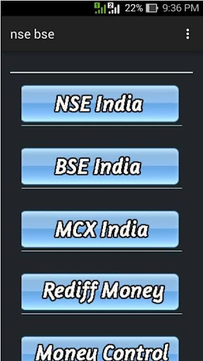 BSE NSE Live Stock Quotes