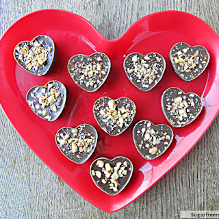 Valentine Peanut Butter Cups {Gluten Free, Dairy Free & Diabetic Friendly}
