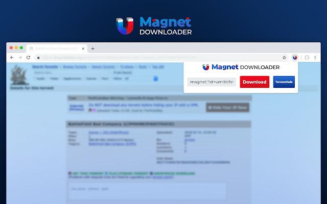 Magnet Downloader