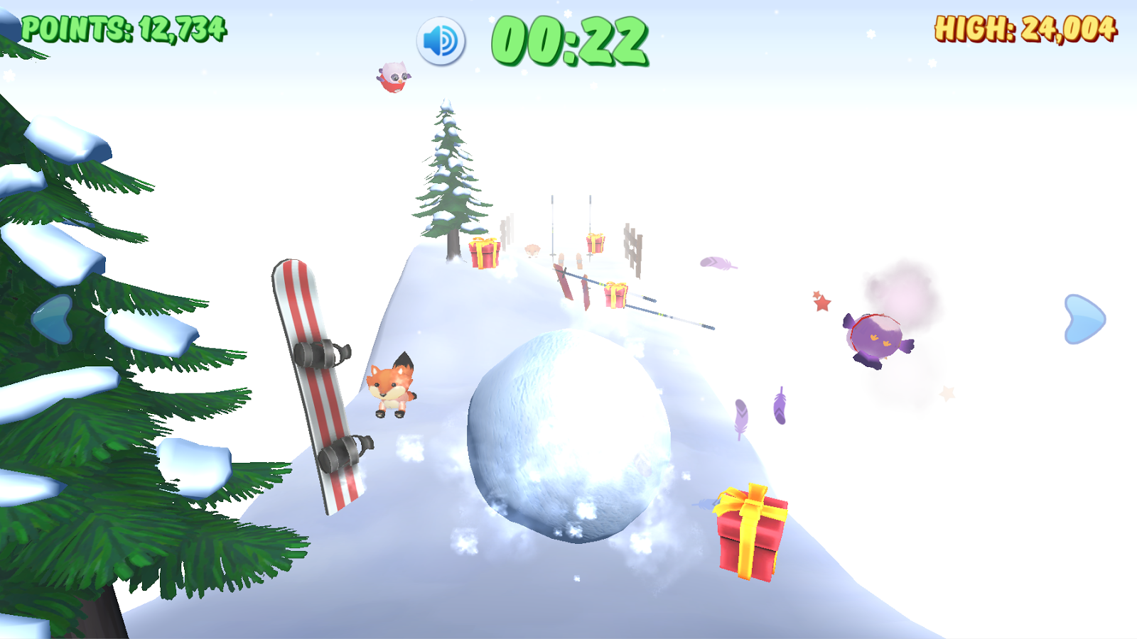 Supreme Snowball Roller Mayhem- screenshot