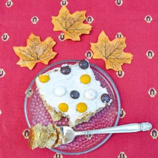 M&M's® Pecan Pie Praline Poke Cake