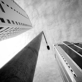 Skylines by Mohammad Istikharah - City,  Street & Park  Vistas ( photography street 3 lines architecture )