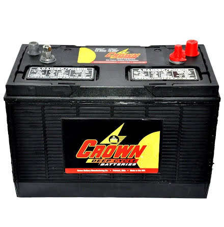 Deep-cycle batteri 12V/130Ah