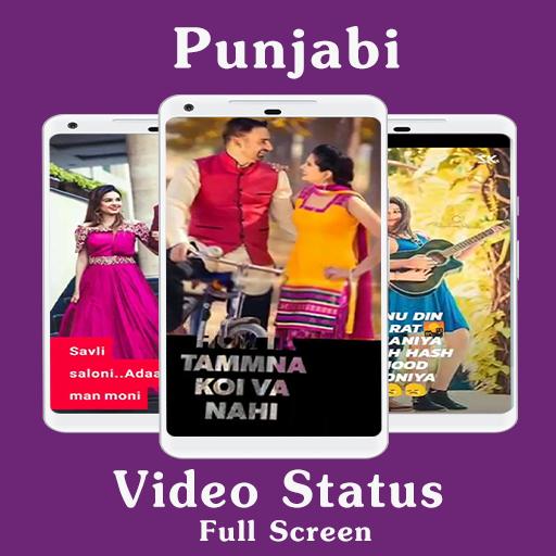 Punjabi Video Status Song Fullscreen Lyrical Video Apps