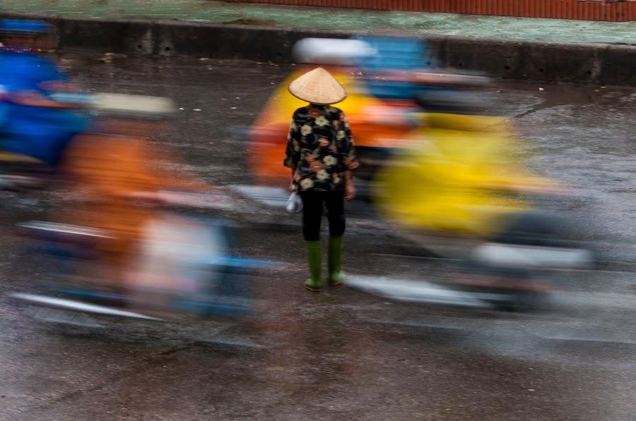 by Cliffie Scott-Williams - City,  Street & Park  Street Scenes