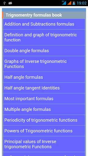 Trigonometry Handbook Guide