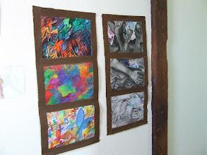 """Photo: """"Windows"""", Techniques Mixtes 2010 L1 Art Plastique"""