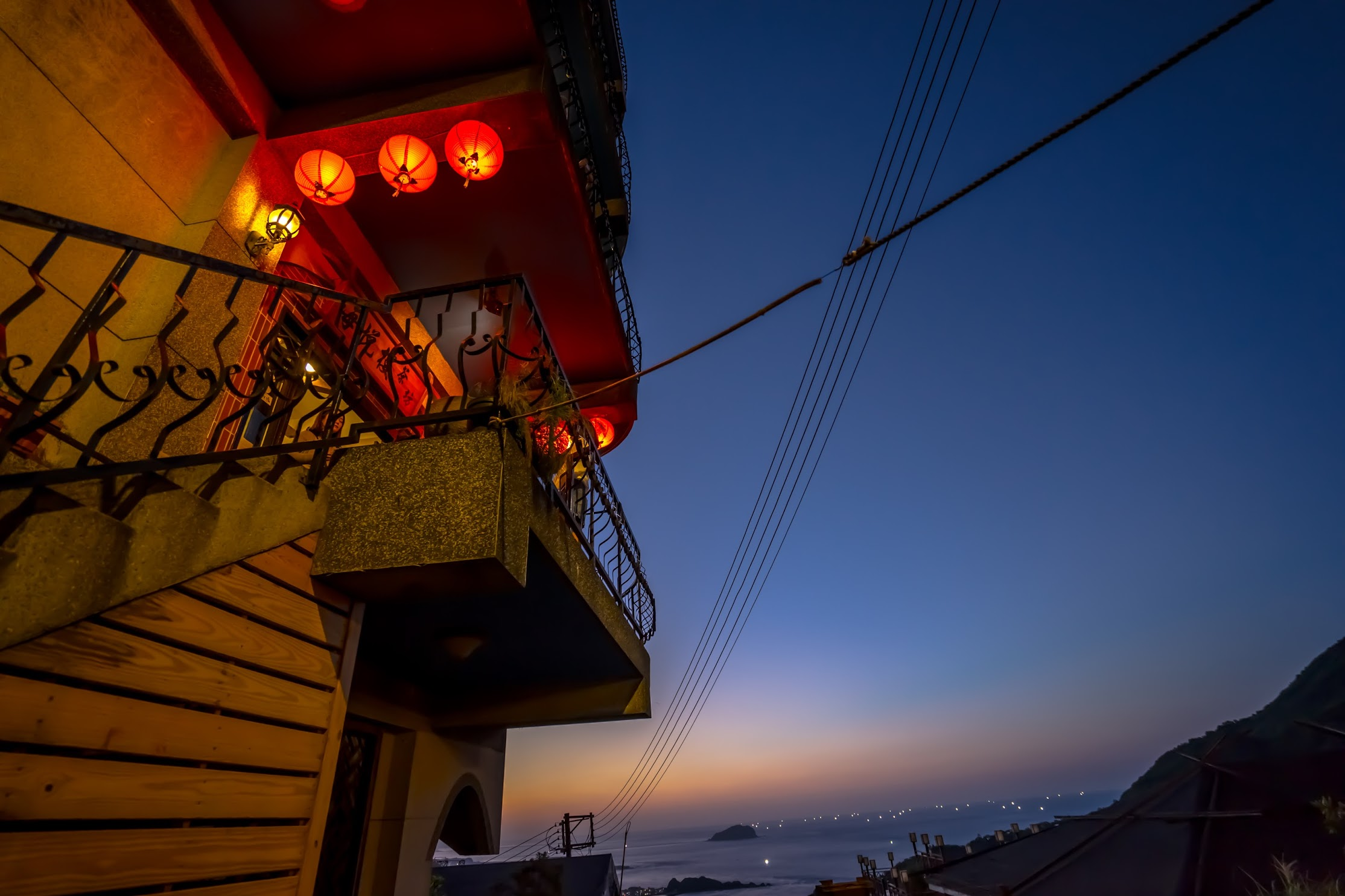 Jiufen Skyline Tea House2
