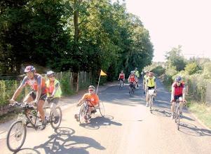 Photo: tandem et hand bike