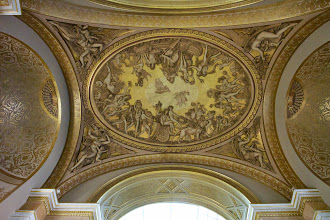 Photo: The French had a real thing for ceilings. If you're not looking up in the Louvre, you're missing a lot.