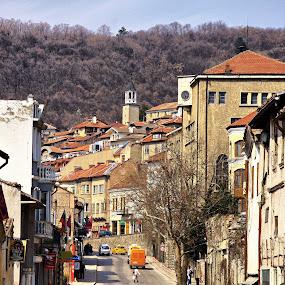 Veliko Tarnovo-Bulgaria by Stoyan Katinov - City,  Street & Park  Historic Districts ( veliko, monument, road, tarnovo, wall, bulgaria )