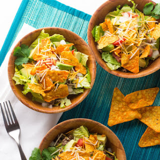 Taco Salad With Tortilla Chips Recipes.