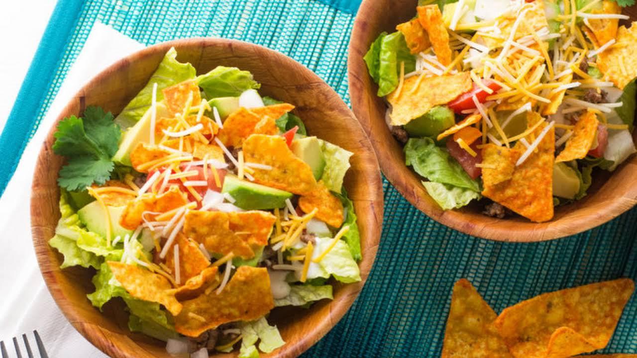 Taco Salad Recipe With Tostitos