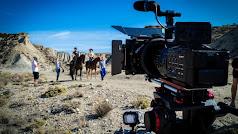 Imagen de uno de los rodajes realizados en el Desierto de Tabernas.