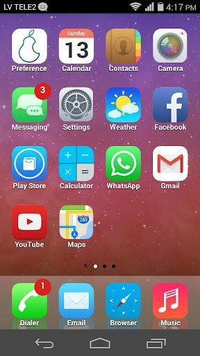 iPear SD iOS Launcher