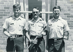 Photo: 2LT Sandy Curran (center)