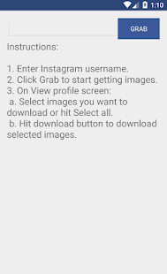 Instant Download for Instagram - náhled