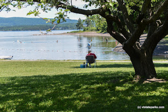 Photo: The day use at Burton Island State Park is so relaxing by Raven Schwan-Noble