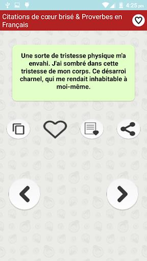 скачать Citations De Cœur Brisé Google Play Softwares