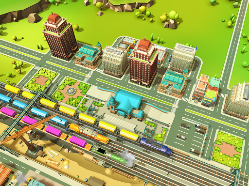 Idle City Tycoon - Build and Transport Simulator 1.1 screenshots hack proof 1
