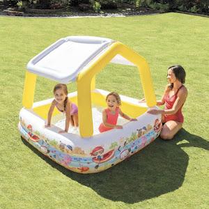 Piscina copii Sun Shade 280 litri - 157 x 157 x 122 cm