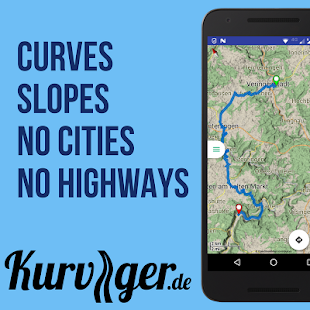 Kurviger - Motorcycle Navi- screenshot thumbnail