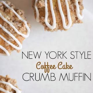 New York Style Coffee Cake Crumb Muffins Recipe