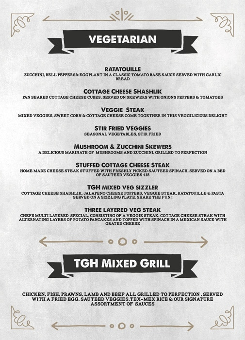 The Grill House menu 4