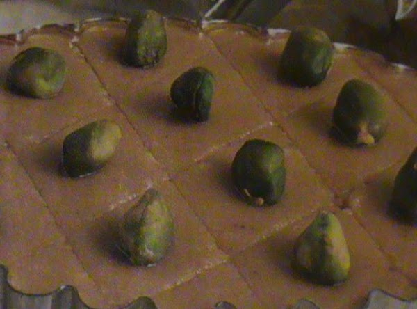 Butterscotch Pistachio Fudge Recipe
