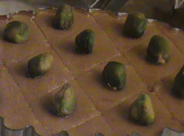 Butterscotch Pistachio Fudge Recipe