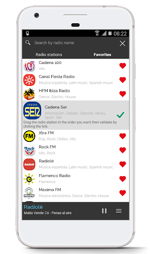 Radio Spain 1.0 screenshots 2