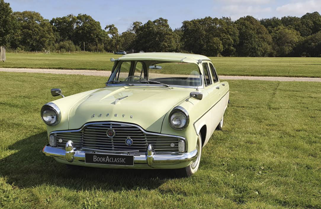 Ford Zephyr Hire Southampton