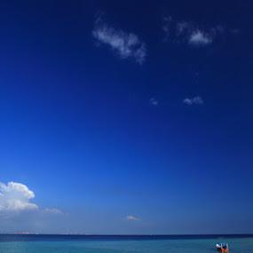 Samalona Island by Steven Tessy - Landscapes Waterscapes