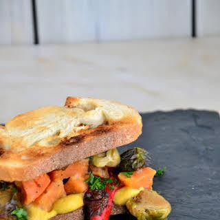 Leftover Thanksgiving Sweet Potato Sandwiches {Gluten-Free, Dairy-Free, Vegetarian}.