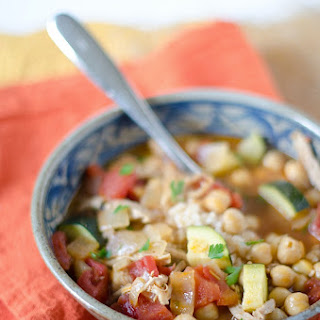 Spiced Chickpea Stew {Recipe}