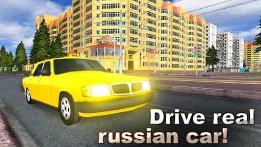 Russian City 3D: Taxi Driver