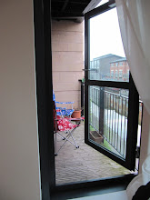 Photo: Balcony (overlooking canal), director's flat
